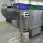 Trayline industrial washer